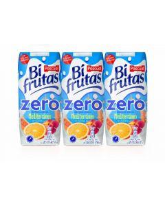 Bi frutas zero mediterreneo pascual  p-3 33cl