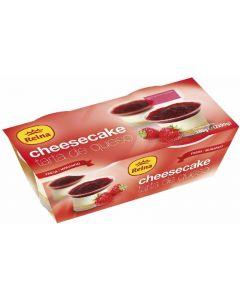 Tarta cheescake reina pack de 2 unidades de 90g