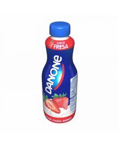 Danone yogur líquido sabor fresa 550gr