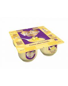 Crema vainilla vitalinea p4x120g