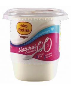 Yogur 0% materia grasa edulcorado reina 500g