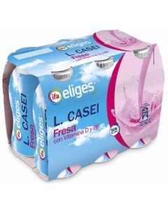Yogur liquido l.casei fresa ifa eliges p-6x100ml
