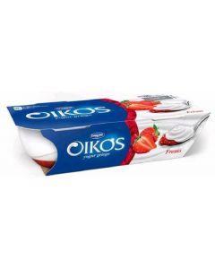 Yogur  fresa oikos p-2x110g