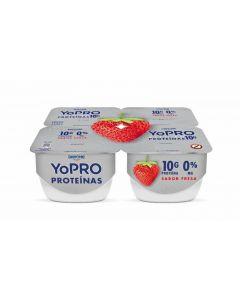 Yogur  fresa yopro p-4x130g