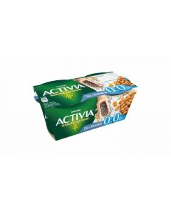 Yogur desnatado chia almendra activia p2x120g