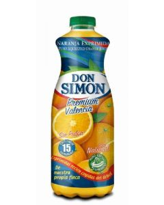 Zumo refrigerado sin pulpa de naranja don simon 1l