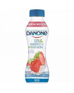 Yogur liquido fresa danone 280g