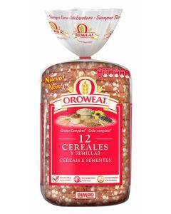 Pan molde  integral cereales oroweat  680g