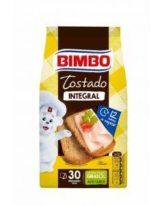 Pan tostado integral bimbo 30rb 270g