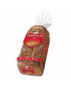 Pan molde  14 cereal semillas cerealia  435g