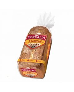 Pan molde  5 semillas cerealia  435g