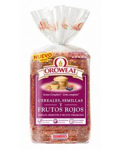 Pan molde  frutos rojos oroweat  680g
