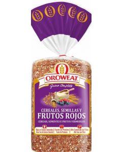 Pan de molde frutos rojos oroweat 680g