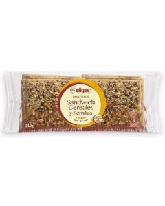 Pan  sandwich cereales ifa eliges  p8x39g