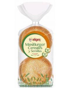Pan  hamburguesa multicereales ifa eliges  p4x75g