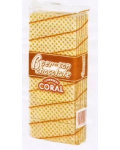 Barquillo boer chocolate coral 450g