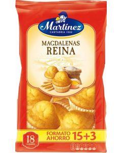 Magdalenas redondas  martinez  650g