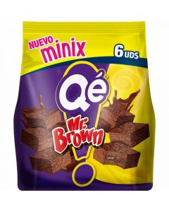 Pastelitos mini brownie chocolate qe  p6x25g