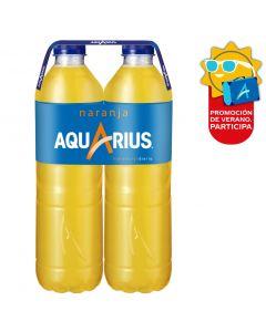Bebida isot.  naranja aquarius pet p-2x1,5l