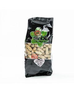 Cacahuetes con cascara sin sal san blas 500g
