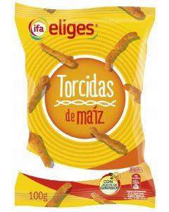 Aperitivo torcidas de maíz ifa eliges 100g