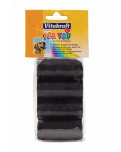 Bolsas higiénicas de recambio para dispensador perro vitakraft pack de 4 unidades de 80 bolsas
