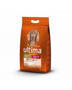 Comida seca para perros senior ultima 3kg
