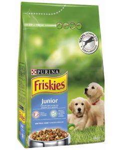 Comida seca para perros junior con pollo friskies 3kg