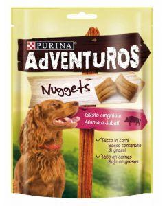 Snack perro nuggets purina adventuros 90g