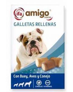 Snack perro galletas rellenas ifa amigo 500k