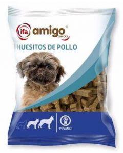 Snack para perros mini huesos pollo ifa amigo 60g