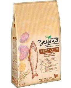 Comida seca para perros salmón beyond simply 1,4kg