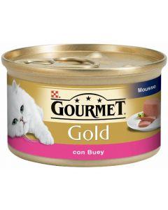 Comida gato buey gourmet gold friskies 85g