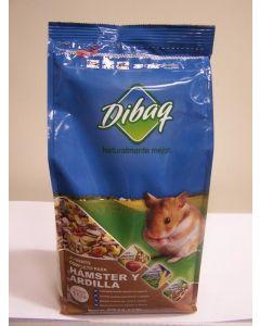 Comida hamster dibaq 1k