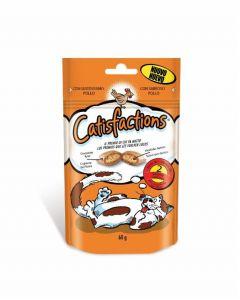 Snack para gato con pollo catisfactions 60g