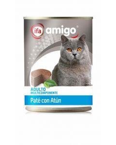 Comida húmeda para gatos atún ifa amigo 400g