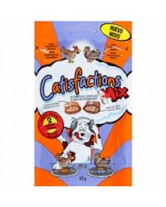Snack gato mix  catisfaction  60g