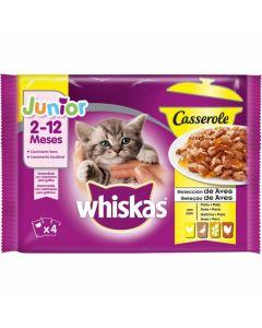 Comida gato junior aves casserole p4 85gr