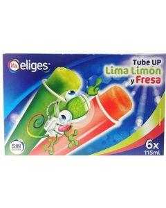 Helado tube up lima/fresa ifa eliges 6x115ml