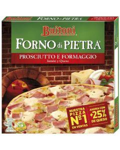 Pizza prosciutto e formaggio forno di pietra buitoni 360g