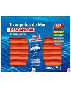 Tronquitos de mar   pescanova  500g