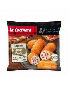 Croquetas artesanas jamon iberico la cocinera  400g