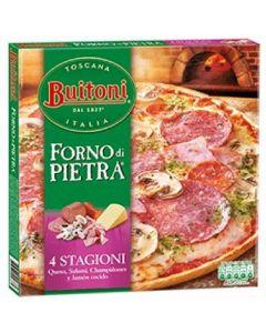 Pizza quattro stagioni forno di pietra buitoni 355g