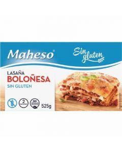 Lasaña sin gluten boloñesa maheso 525g