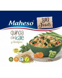 Quinoa kale y lentejas maheso  525g