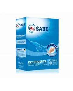 Detergente polvo mano ifa sabe 600 gramos