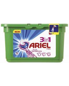 Detergente cápsulas sensaciones ariel 14 dosis