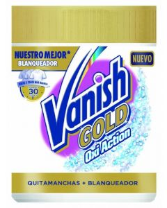 Quitamanchas oxi white vanish gold 470g