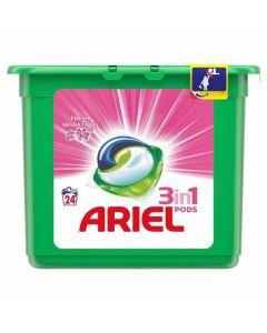 Detergente cápsulas sensaciones ariel 24 dosis