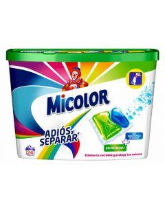 Detergente cápsulas adios separar micolor 24 dosis